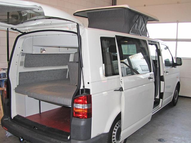 Volkswagen T5 LW camper met klein hefdak